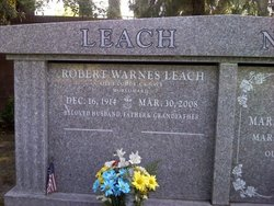 Robert Warnes Leach