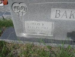 Taze R. Baker