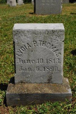 Lydia Pamela <i>Wright</i> Thomas