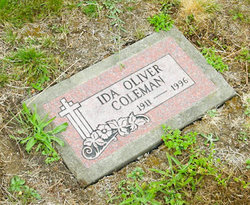 Ida <i>Oliver</i> Coleman