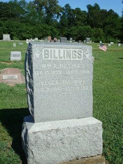 Eliza <i>Curtis</i> Billings