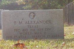 B. M. Alexander