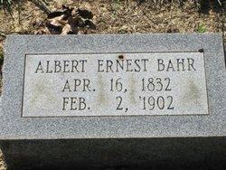 Albert Ernest Bahr, Sr