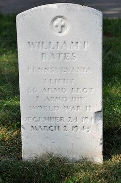 William P Bates