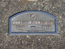 Lucy A. <i>Monroe</i> Brown