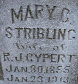 Mary C <i>Stribling</i> Cypert