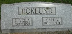 Carl Victor Ecklund