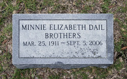 Minnie Elizabeth <i>Dail</i> Brothers