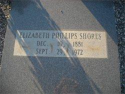 Elizabeth <i>Phillips</i> Shores