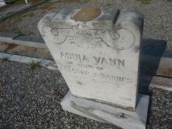 Adina <i>Vann</i> Barnes