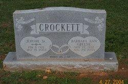 Barbara Ann <i>Greene</i> Crockett