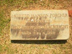 Loretto Manson <i>Wright</i> Porcher