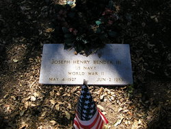 Joseph Henry Bender, III