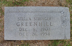 Stella <i>Stringer</i> Greenhill