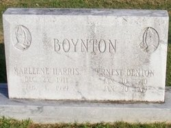 Karleene <i>Harris</i> Boynton