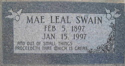 Mae Leal <i>Ledbetter</i> Swain