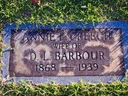 Annie <i>Creech</i> Barbour