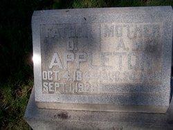 Arabella M. <i>Hammond</i> Appleton