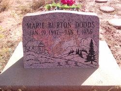 Marie <i>Burton</i> Dodds