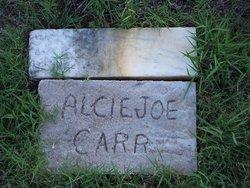 Alcie Joe Carr