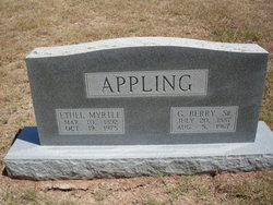 Grover Berry Appling