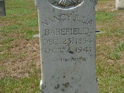 Nancy Julia <i>Welch</i> Barefield