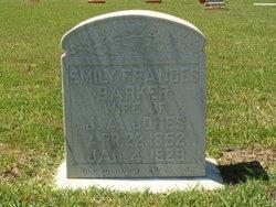 Emily Frances Barker