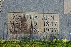 Martha Ann <i>Griffin</i> Harris