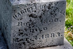 Harriet <i>Maddux</i> Bonnewell
