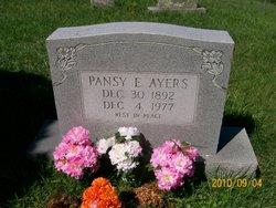 Pansy <i>Evans</i> Ayers