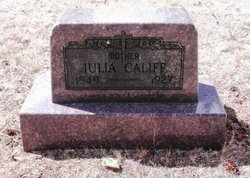 Julia <i>Hughes</i> Califf