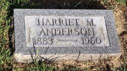 Harriet M. <i>Bayless</i> Anderson