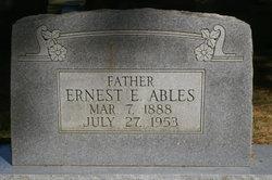 Ernest E. Ables