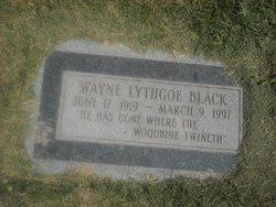 Wayne Lythgoe Black
