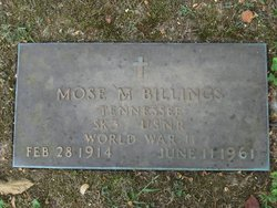 Mose M. Billings