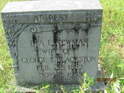 Eva E. <i>Newman</i> Blackston