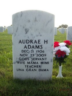 Audrae Helen <i>Hudson-Tavares</i> Adams