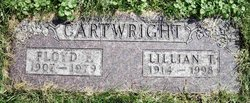 Lillian Theresa <i>Grossell</i> Cartwright