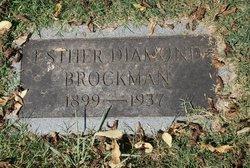 Esther <i>Diamond</i> Brockman