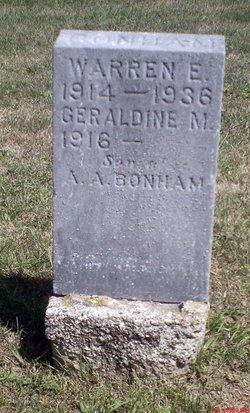 Warren E. Bonham