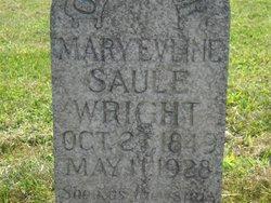 Mary Evline <i>Saule</i> Wright