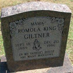 Romola vera <i>King</i> Giltner
