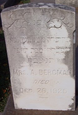 Mrs A. Bergman