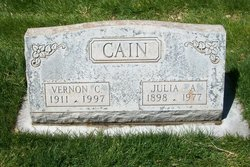 Julia Ann <i>Rogers</i> Cain