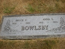 Anna Louise <i>Hutchins</i> Bowlsby