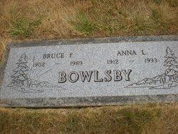 Anna Louise <i>Hutchins</i> Bowlsby