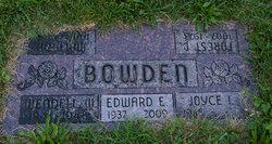 Edward E Ed Bowden, Sr