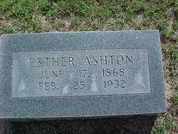 Esther Farrell <i>Garner</i> Ashton