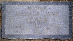 Mahala Jane <i>Thompkins</i> Clark