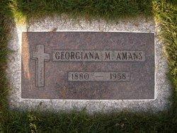 Georgiana Marie Georgie Amans